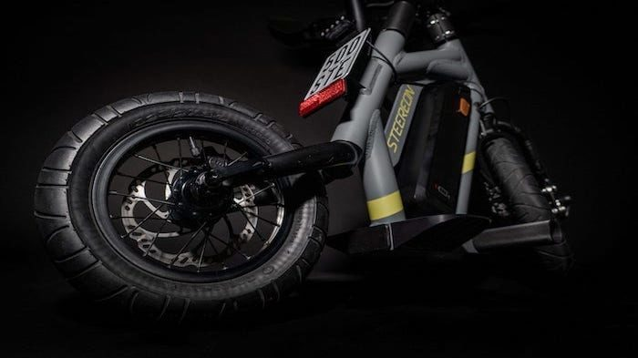 Steereon E-Scooter Rahmen grau