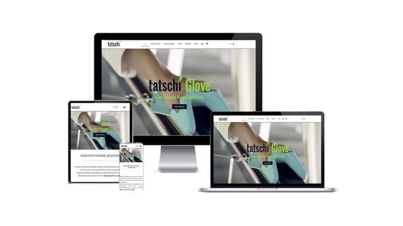 Responsive Webdesign Tatschi Products